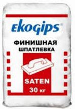 Шпаклевка SatenGips EkoGips (Сатенгипс Экогипс) 25кг