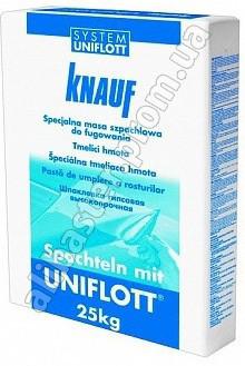 Шпаклевка Knauf Uniflott (Кнауф Унифлотт) 25кг