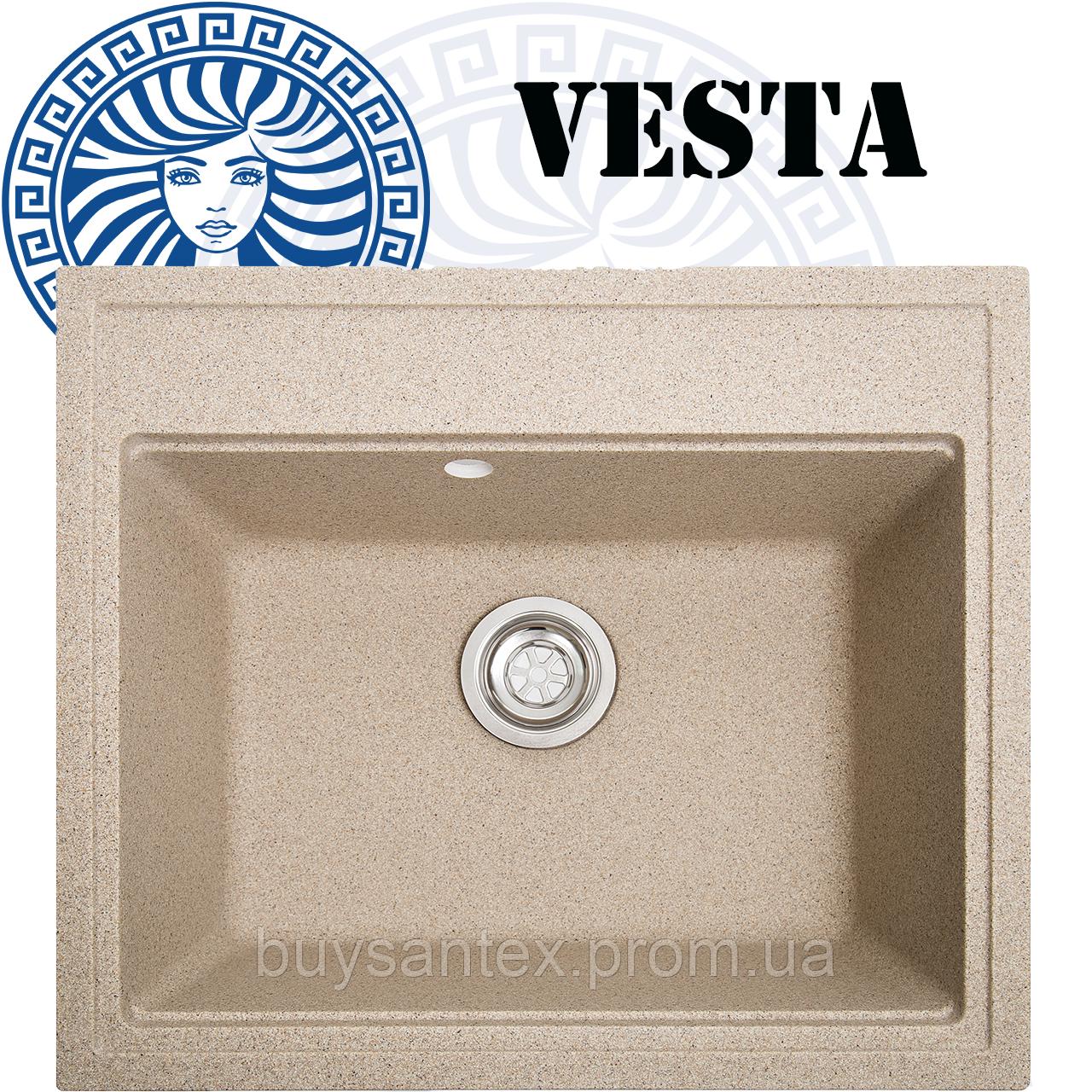 Кухонная мойка Cora - Vesta Sand