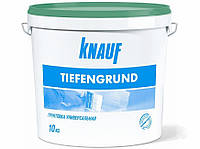 Грунтовка Knauf Tiefengrund, 10кг (Кнауф Тифенгрунд, Тіфенгрунт)
