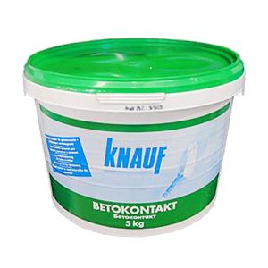 Грунтовка Knauf Betokontakt (Кнауф Бетоконтакт) 5кг