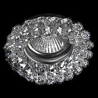 Светильник Точка Света  CR 100 CL (хром,прозрачный,50Вт)