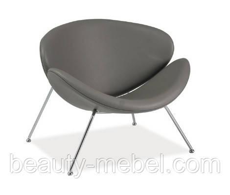 Дизайнерское кресло Signal Major, серое