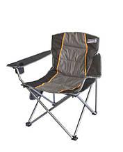 Кресло туристическое складное Coleman BM0630 с подлоконтиками практичное кемпинговое кресло место для стакана