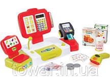Детская касса электронная+звук +калькулятор SMOBY