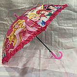 Зонтик детский Принцессы оптом, фото 3