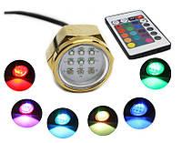 Подводный светодиодный светильник для яхт Ecolend 27W RGB