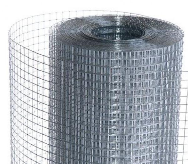 Сетка сварная штукат. 12*12мм*0,65мм оцинкованая  (1*30 м)