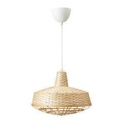 Подвесной светильник IKEA INDUSTRIELL 40 см бамбук 803.962.00