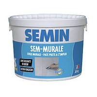 SEMIN SEM-MURALE Клей готовый для стеклообоев и ткани. Франция. 10кг