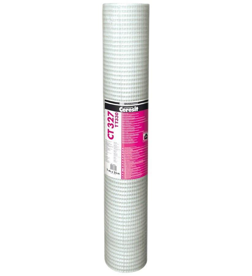 Сетка антивандальная СERESIT СТ-327 (Церезит СТ 327), 330 г/м2, рулон 25 м2