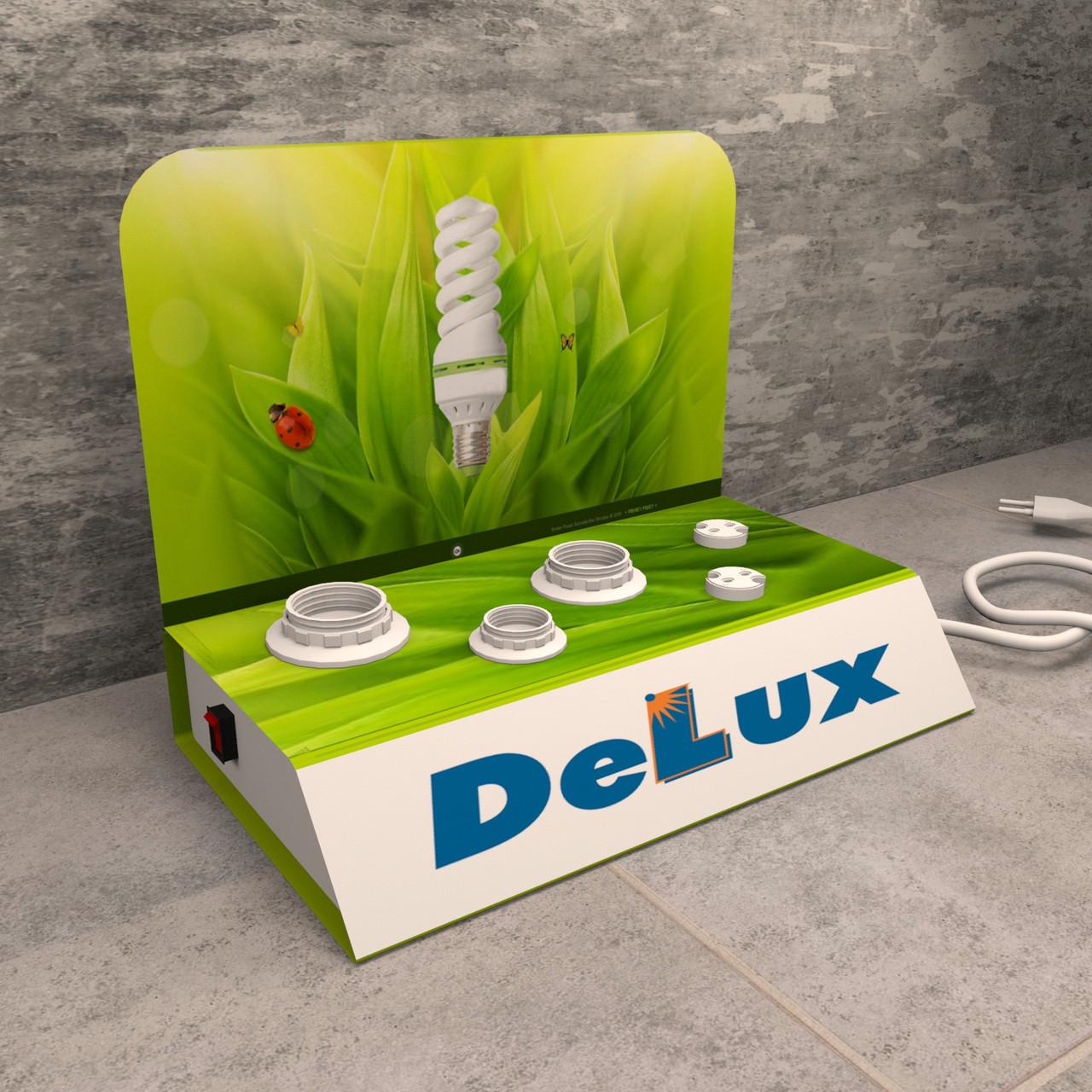 Тестер для лампочек DeLux
