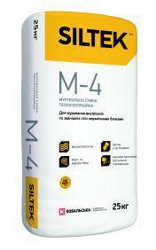 Кладочная смесь теплоизоляционная SILTEK М-4 (Силтек М 4), мешок 25