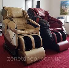 Демонстрация массажного кресла в Днепре