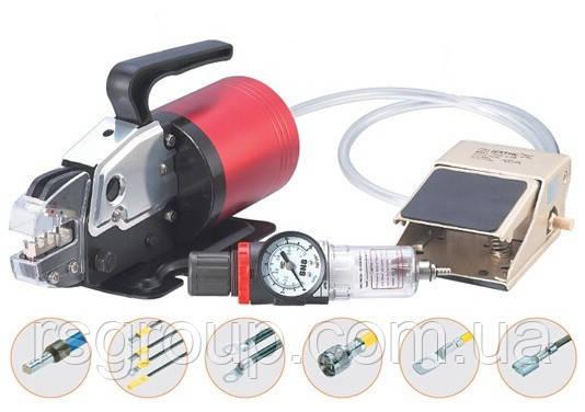 Пневматический инструмент для серийной опрессовки наконечников A10WF
