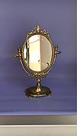 """Зеркало на ножке """"Овальное (м)"""" из бронзы, фото 1"""