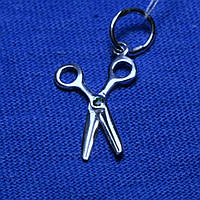 Серебряная подвеска Ножницы 4035, фото 1