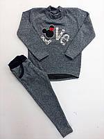 Модные трикотажные костюмы детские весенние., фото 1