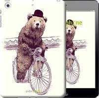 "Чехол на iPad mini Медведь на велосипеде ""4148c-27-851"""