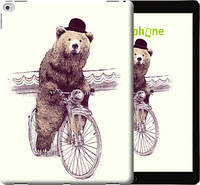 "Чехол на iPad Pro 12.9 Медведь на велосипеде ""4148u-362-851"""