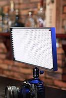 Cветодиодный накамерный свет Lishuai LED-508AS (Би-светодиодный) + комплект (LED-508AS), фото 1