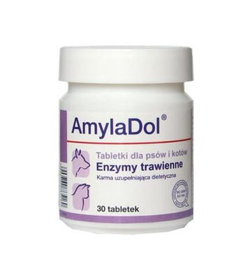 Витаминно-минеральный комплекс Dolfos Долфос АмилаДол для собак и кошек при нарушении пищеварения, 30 таб