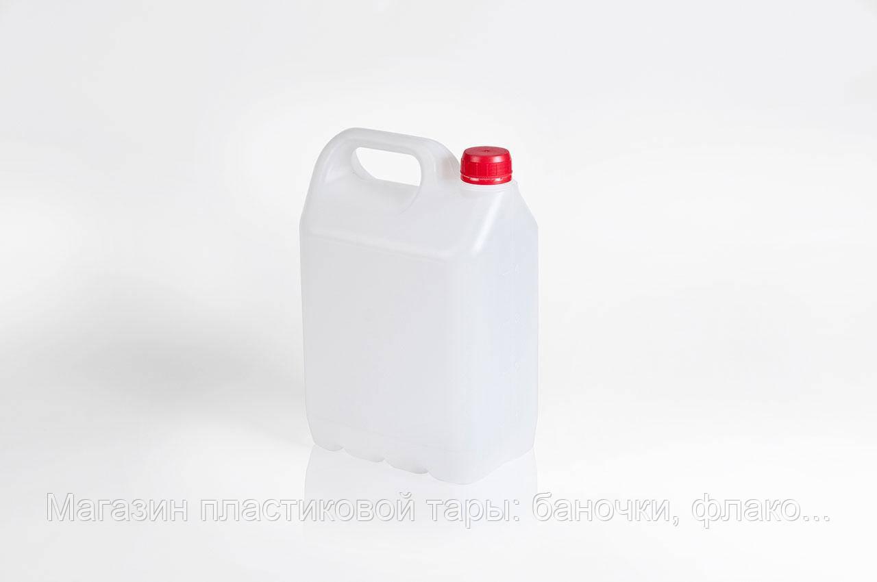 """Канистра пластиковая 5л """"Альфа"""", фото 1"""