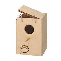 Деревянный домик для птиц Ferplast NIDO SMALL