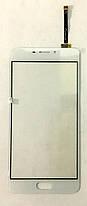 Сенсор (тачскрін) для Meizu M5 note (M621) білий, фото 2
