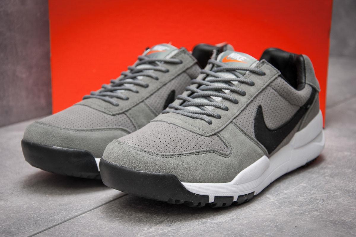 Кроссовки мужские Nike Apparel, серые (13152), р. 41 - 45