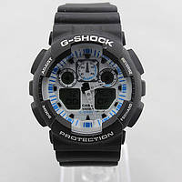 Часы наручные Casio G-Shock ga-100 Black-White CA129