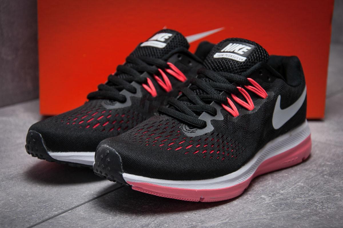 Кроссовки женские Nike Zoom Pegasus V4, черные (13182), р. 37 - 41