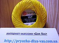 100% мерсеризованный хлопок (50г/ 225м) Yarnart Lily 6347