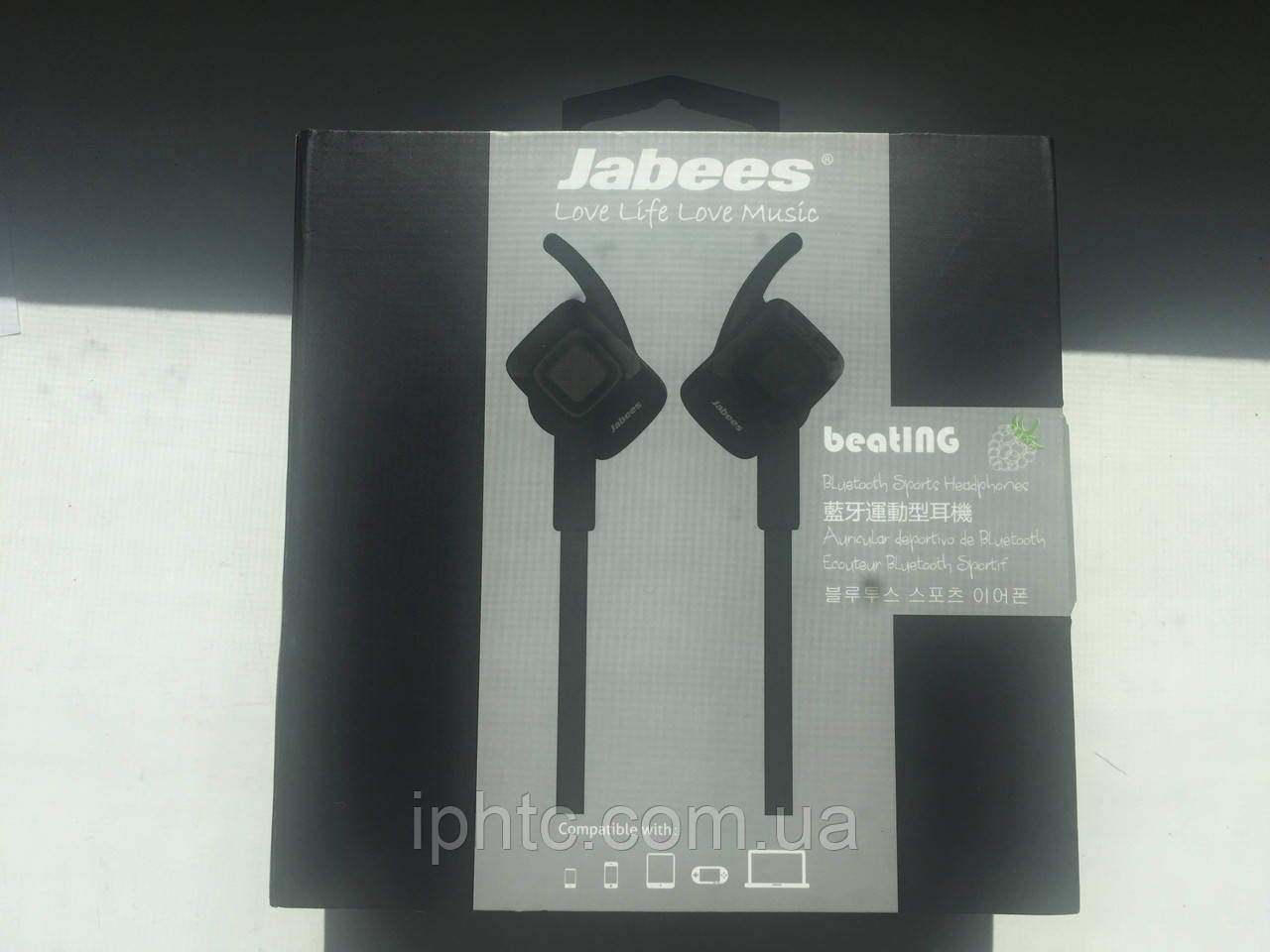 Bluetooth наушники Jabees Beat ING (black)