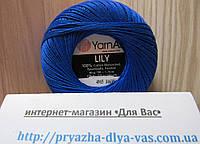 100% мерсеризованный хлопок (50г/ 225м) Yarnart Lily 4915