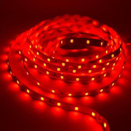 Светодиодная лента LED 12V, SMD5050, 60 д/м, красный