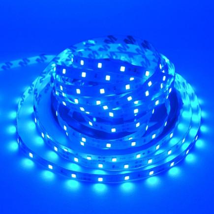 Светодиодная лента LED 12V, SMD5050, 60 д/м, синий