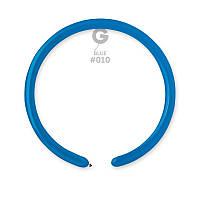 Воздушные шарики ШДМ Gemar D2 конструктор синий (140см) 100 шт