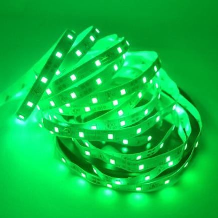 Светодиодная лента LED 12V, SMD5050, 60 д/м, зелёный