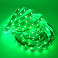 Светодиодная лента LED 12V, SMD5050, 60 д/м, зелёный, фото 1