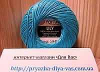 100% мерсеризованный хлопок (50г/ 225м) Yarnart Lily 0008