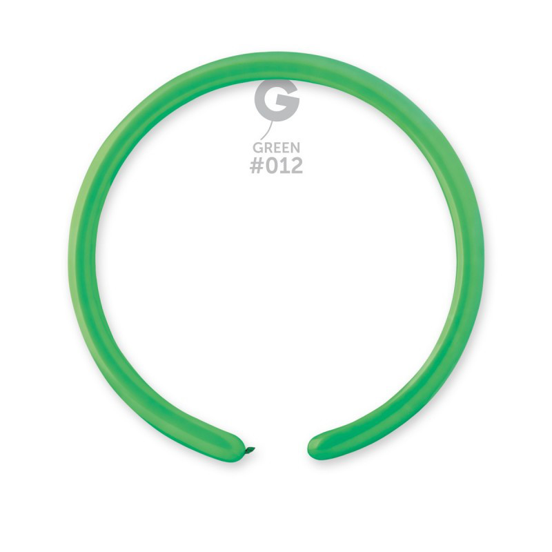 Воздушные шарики ШДМ Gemar D2 конструктор зеленый (140см) 100 шт