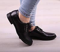 Кожаные туфли со шнурком, фото 1