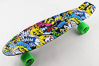 Penny Fish Skateboard Original 22 Рисунок Joker , фото 1