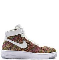 Мужские кроссовки Nike Air Force 1 Ultra Flyknit Mid Multicolor