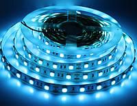 Светодиодная лента LED 12V, SMD5050, 60 д/м, Ice Blue, фото 1