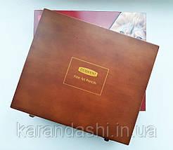 Набор пастельных карандашей Derwent Pastel Pencils 48 цв. в деревянной коробке, фото 3