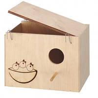 Гнездовой домик для птиц Ferplast NIDO MEDIUM из дерева