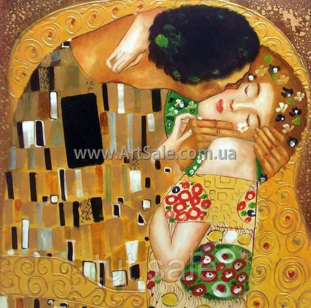 Картинки по запросу климт поцелуй