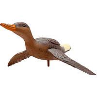 Подсадная утка Hunting Birdland , имитация полета с хлопаньем крыльев, имитация окраски пера (код 186-53579)
